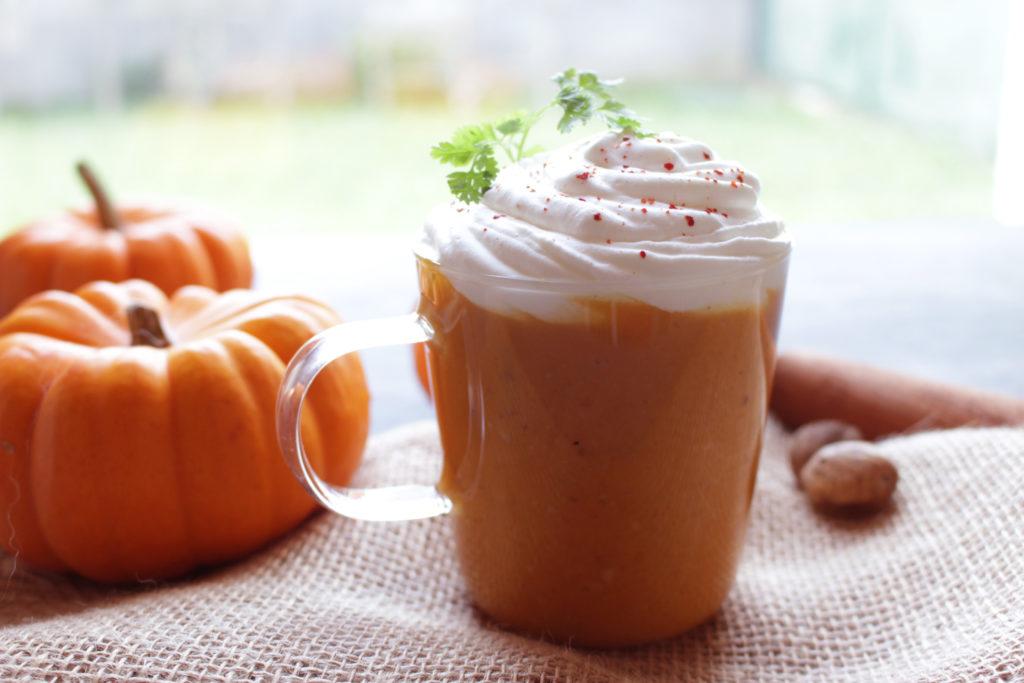 Cappuccino de giraumon