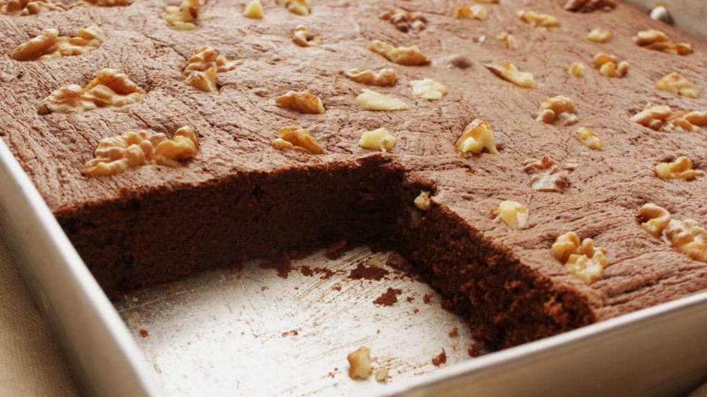 Découpe gâteau sans gluten