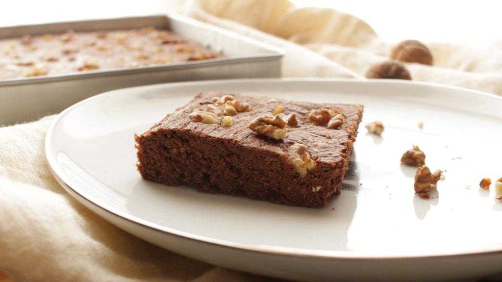 Fondant sans gluten choco-châtaigne et noix