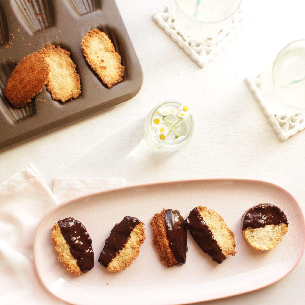 biscuits noix de coco et chocolat