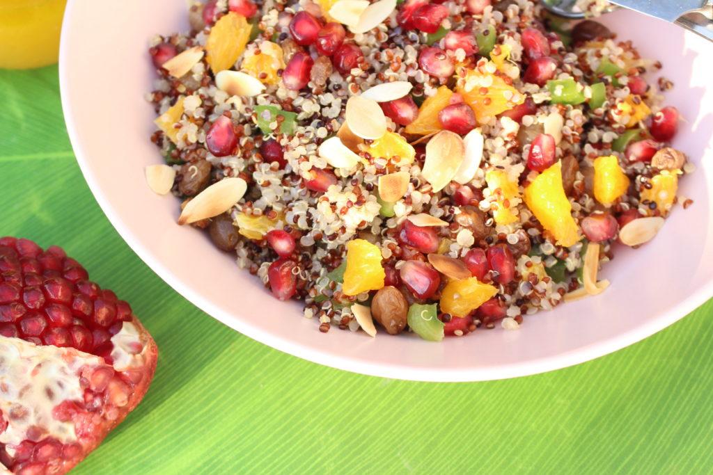 taboulé e quinoa