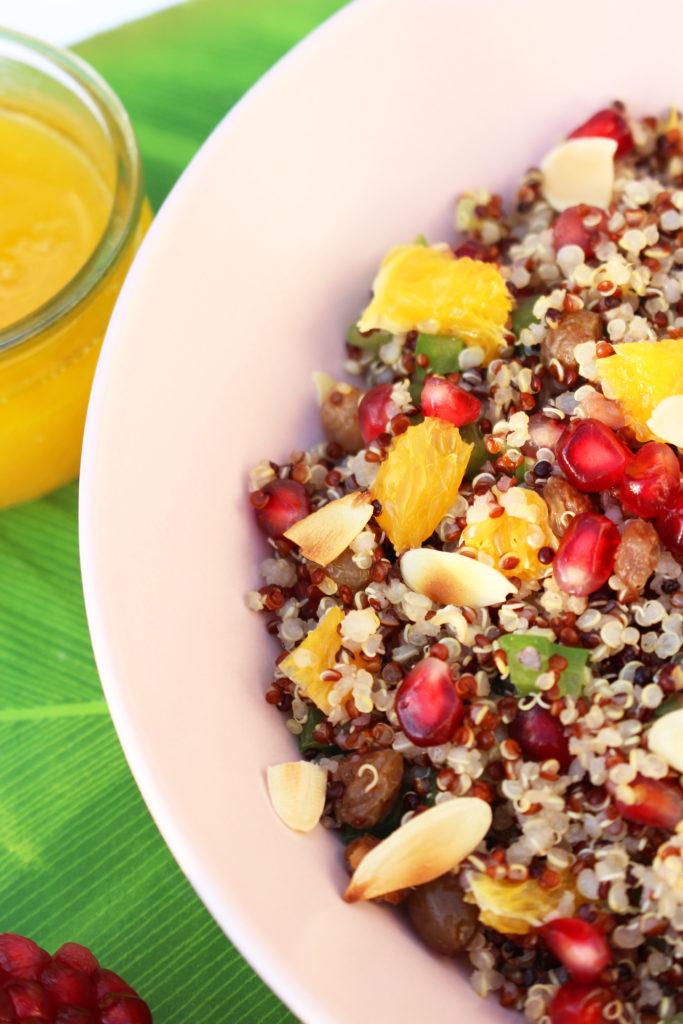 quinoa et légumes