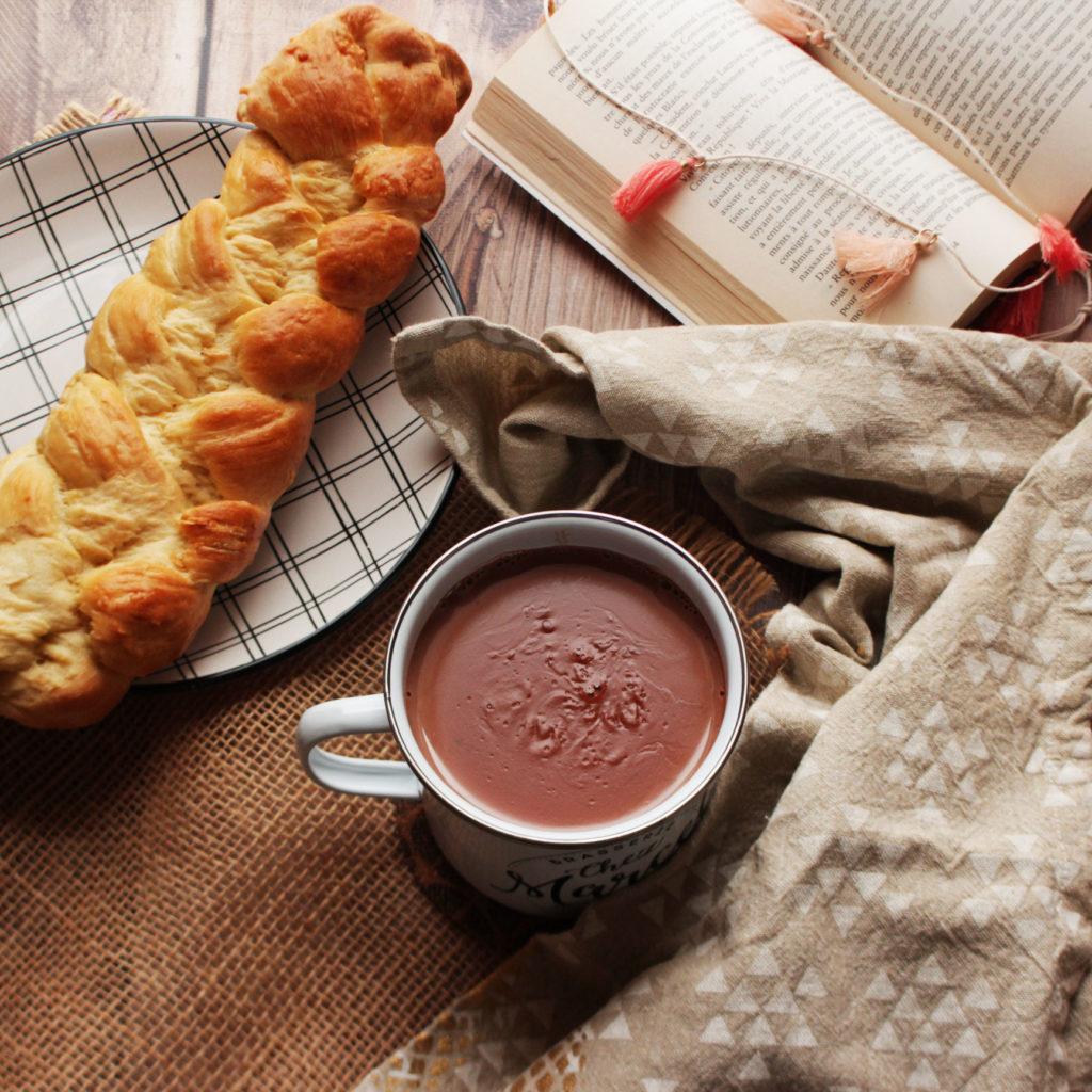 "tasse de chocolat de "" communion"""